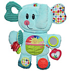 more details on Playskool Fold On The Go Busy Blue Elephant Soft Toy.