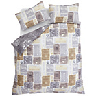 more details on Catherine Lansfield A Timely Reminder Duvet Cover Set-Double