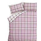 more details on Catherine Lansfield Kelso Heather Duvet Cover Set - Kingsize