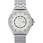 more details on Casio Mens Day/Date Dress Analogue S/S Bracelet Watch