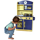 more details on Teamson Kids Navy Deluxe Play Kitchen.