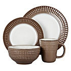 more details on Denby Intro Dinner Set - Mocha.