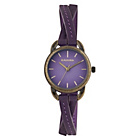 more details on Kahuna Ladies Purple Crossover Strap Watch.
