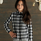 more details on Cherokee Girls' Pretty Lurex Check Shirt.