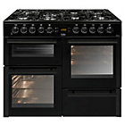 more details on Beko BDVF100K Gas Range Cooker - Black.