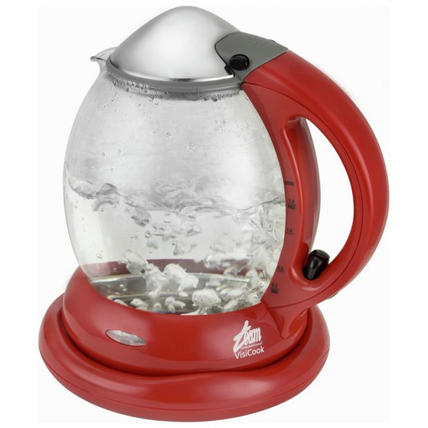 Red Kitchen Glassware: Buy Visicook Powerboil Glass Kettle