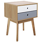 more details on Foley 2 Drawer End Table - Two Tone.