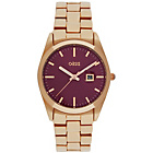 more details on Oasis Purple Dial Rose Gold Bracelet Ladies' Watch.