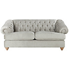 more details on Heart of House Somerton Large Fabric Sofa - Silver.