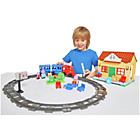 more details on Peppa Pig Contruction Peppa's Train Station Playset.
