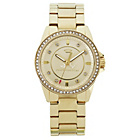 more details on Juicy Couture Ladies' Stella Gold Stone Set Bracelet Watch.