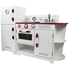more details on Teamson Kids Red and White Play Kitchen.