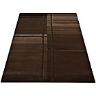 more details on Melrose Verona Retro Rug - 120x170cm - Chocolate.