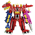 more details on Power Rangers Deluxe Dino Charge Megazord.