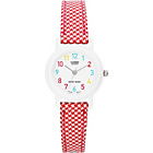 more details on Casio Kids' Full Figure Gingham Analogue Strap Watch.