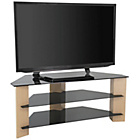 more details on Oak and Black Glass 55 Inch TV Stand.