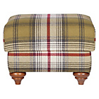 more details on Heart of House Argyll Footstool - Autumn Tartan.