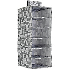 more details on Habitat Firth Canvas 6 Hanging Jumper Storage - Grey.