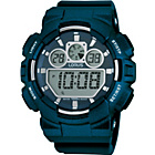 more details on Lorus Men's Digital Blue Resin Watch