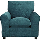 more details on HOME Tessa Fabric Chair - Teal.