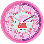 more details on Peppa Pig Time Teaching Wall Clock - Pink.