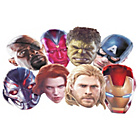 more details on Avengers Age of Ultron Masks - 12 Pack.