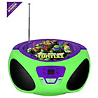 more details on Ninja Turtles CD Boombox - Green.