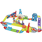 more details on VTech Toot Toot Drivers Super RC Raceway Playset.
