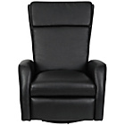 more details on Collection Rock-R-Round Leather Eff Recliner Chair - Black.