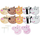 more details on Peppa Pig and Friends Masks - 12 Pack.