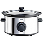 more details on Breville ITP136 3.5 Litre Slow Cooker - Silver.