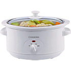 more details on Cookworks 3.5 Litre Slow Cooker - White.