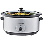more details on Cookworks 6.5 Litre Slow Cooker - Silver.