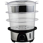 more details on Cookworks 3 Bowl Steamer - Stainless Steel.