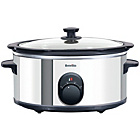 more details on Breville ITP137 4.5 Litre Slow Cooker - Silver.