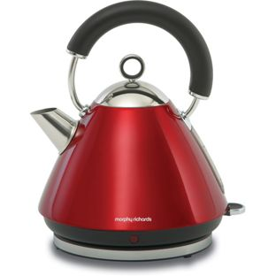 Morphy Richards 43772 Traditional Kettle - Red