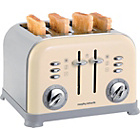 more details on Morphy Richards 44038 4 Slice Toaster - Cream.
