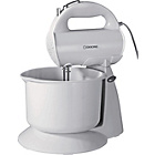 more details on Cookworks HM729WB Hand Mixer with Bowl - White.