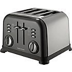 more details on Morphy Richards 44733 Accents 4 Slice Toaster - Black.
