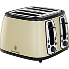 more details on Russell Hobbs 18441 Heritage 4 Slice Toaster- Country Cream.