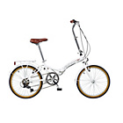 more details on Viking Easy Street 20 Inch Wheel 6 Speed White Bike-Unisex.