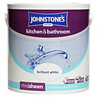 more details on Johnstone's Brilliant White Kitchen & Bathroom Emulsion 2.5L