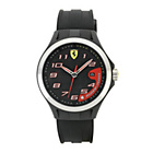 more details on Scuderia Ferrari Mens' Lap Time Black Strap Watch.