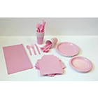 more details on Solid Colour Pale Pink Party Kit.