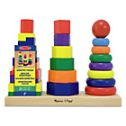 more details on Melissa and Doug Geometric Stacker.