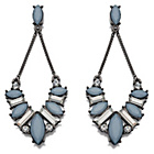 more details on Fiorelli Blue and Grey Crystal Drop Earrings.
