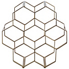 more details on Habitat Honeycomb Gold 7 Bottle Wine Rack.