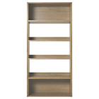 more details on Habitat Kuda Bookcase - Oak.
