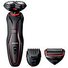 more details on Philips Click and Style S738 Wet and Dry Electric Shaver.