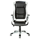 more details on Dexter Height Adjustable Office Chair - Black and White.